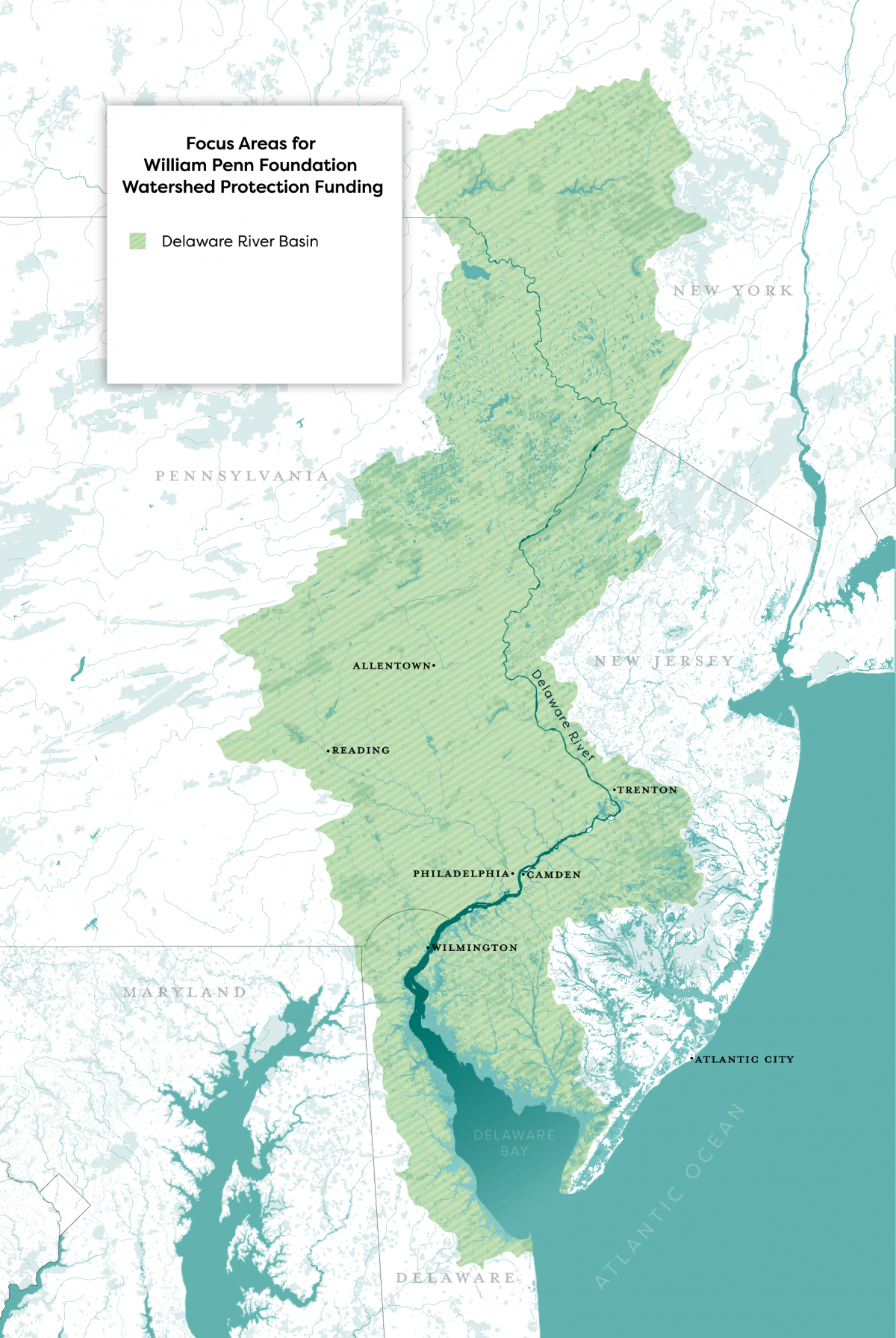 About the Basin - Delaware River Watershed Initiative